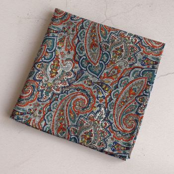 Paisley pocket square - Liberty tana lawn Tessa