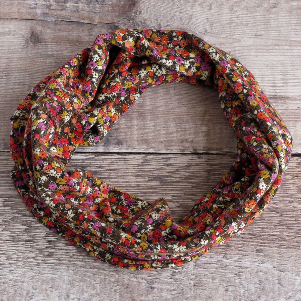 Liberty jersey circle scarf - Lesleys