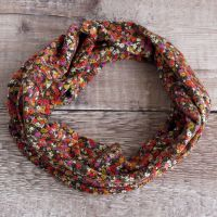 Jersey circle scarf - Lesleys - made from Liberty fabric