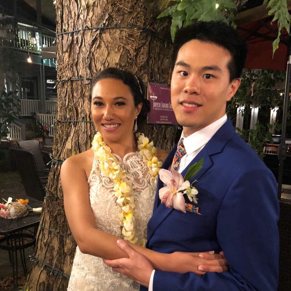 Hawaii floral wedding ties - Liberty print wedding tie