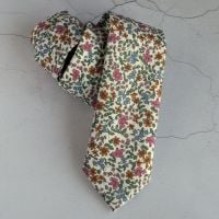 Floral Liberty print tie - Emilia's Bloom