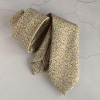 Floral Liberty print tie - Newland pink