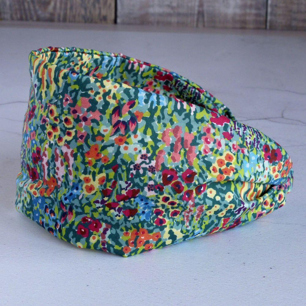 Liberty of London fabric hairband - Virginia Meadow