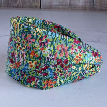 Liberty of London fabric hairband - Virginia Meadow