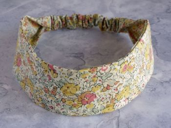 Liberty of London fabric hairband - Claire Aude