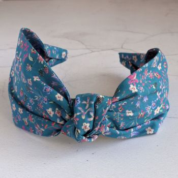 Liberty of London fabric hairband - Donna Leigh knot