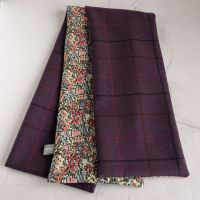 Forest fruits check tweed and Liberty Virginia Meadow scarf