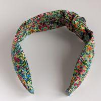Liberty of London fabric hairband - Virginia Meadow knot