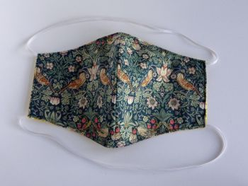 Liberty lawn facemask - choice of Strawberry Thief fabrics