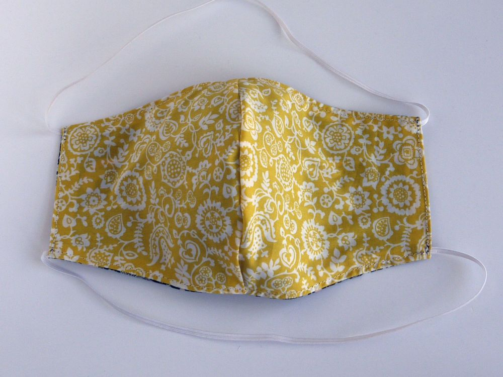 Floral Liberty lawn facemask - Clare & Emily - various colours
