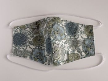 Floral Liberty lawn facemask - Lucy Daisy