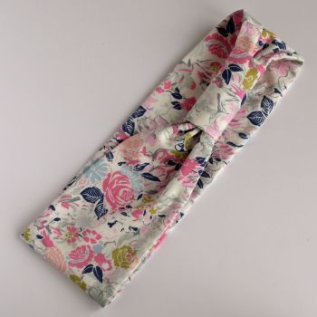 Jersey fabric hairband - Millefiori