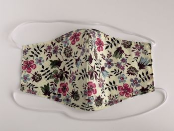 Floral Liberty lawn washable facemask - Edenham - choice of colours