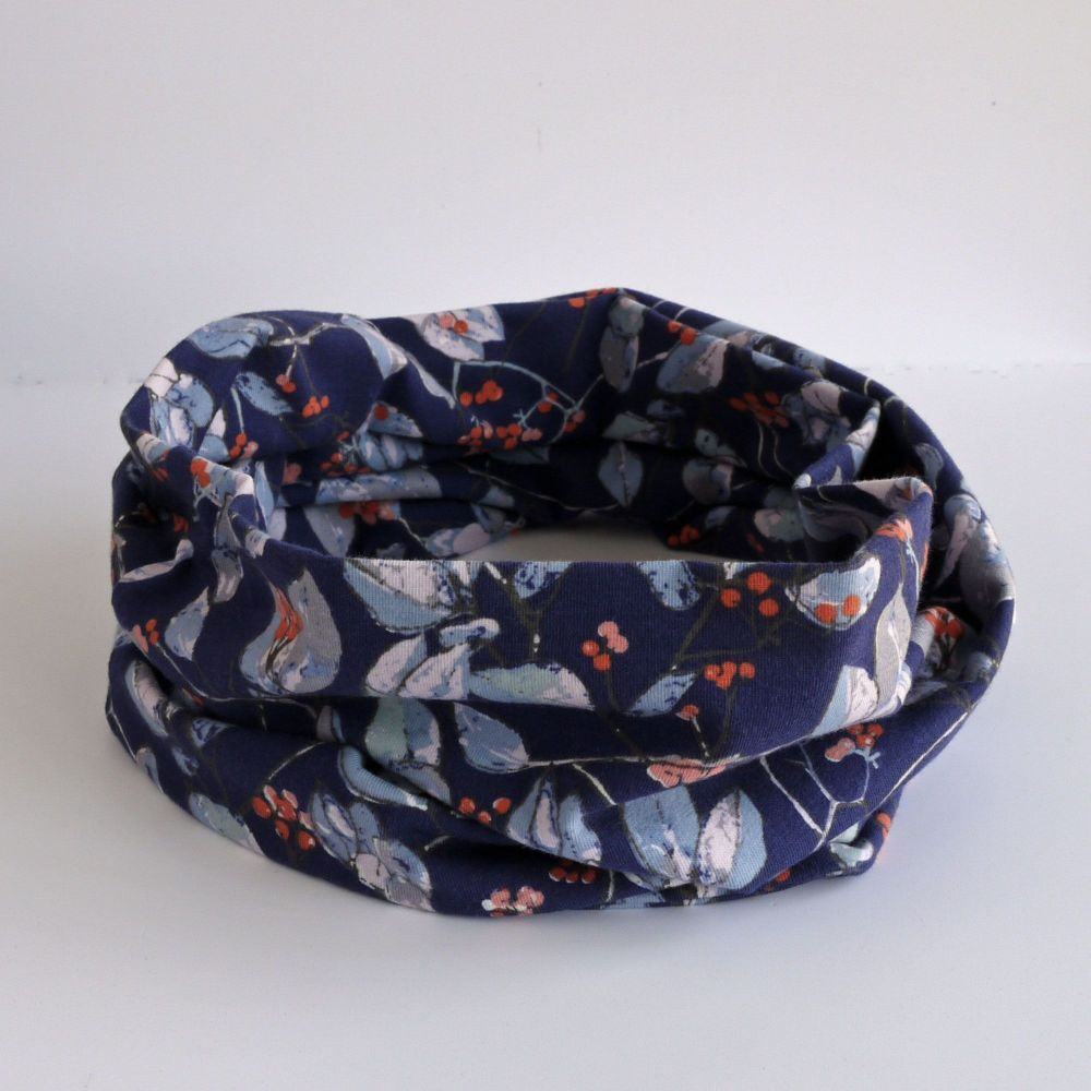 Jersey circle scarf - Serein Branchlet