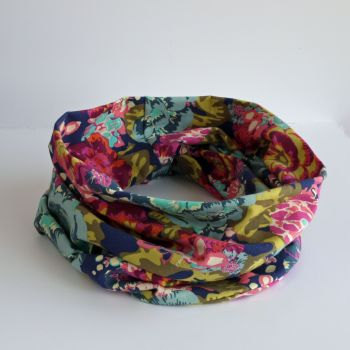 Jersey circle scarf - Acqua Di Rose
