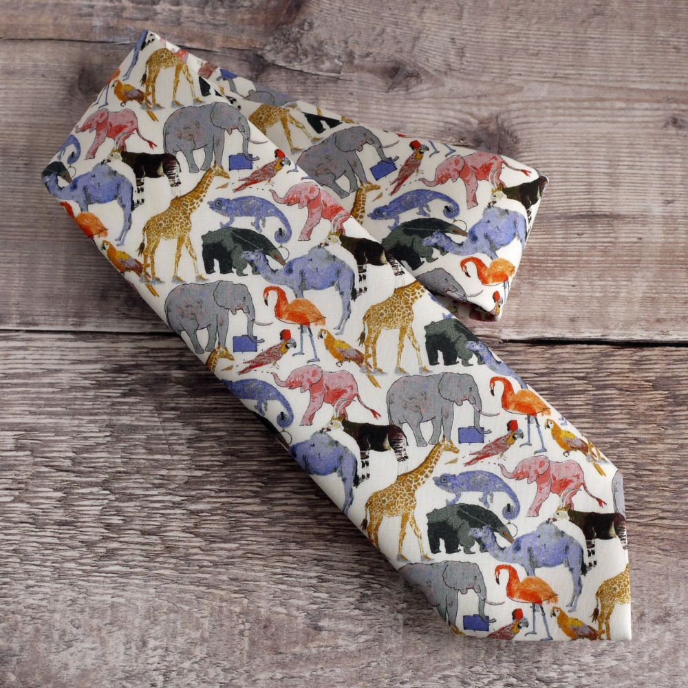 <!-004->Quirky pattern ties