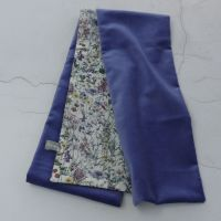 Violet velvet and Liberty Wild Flowers scarf