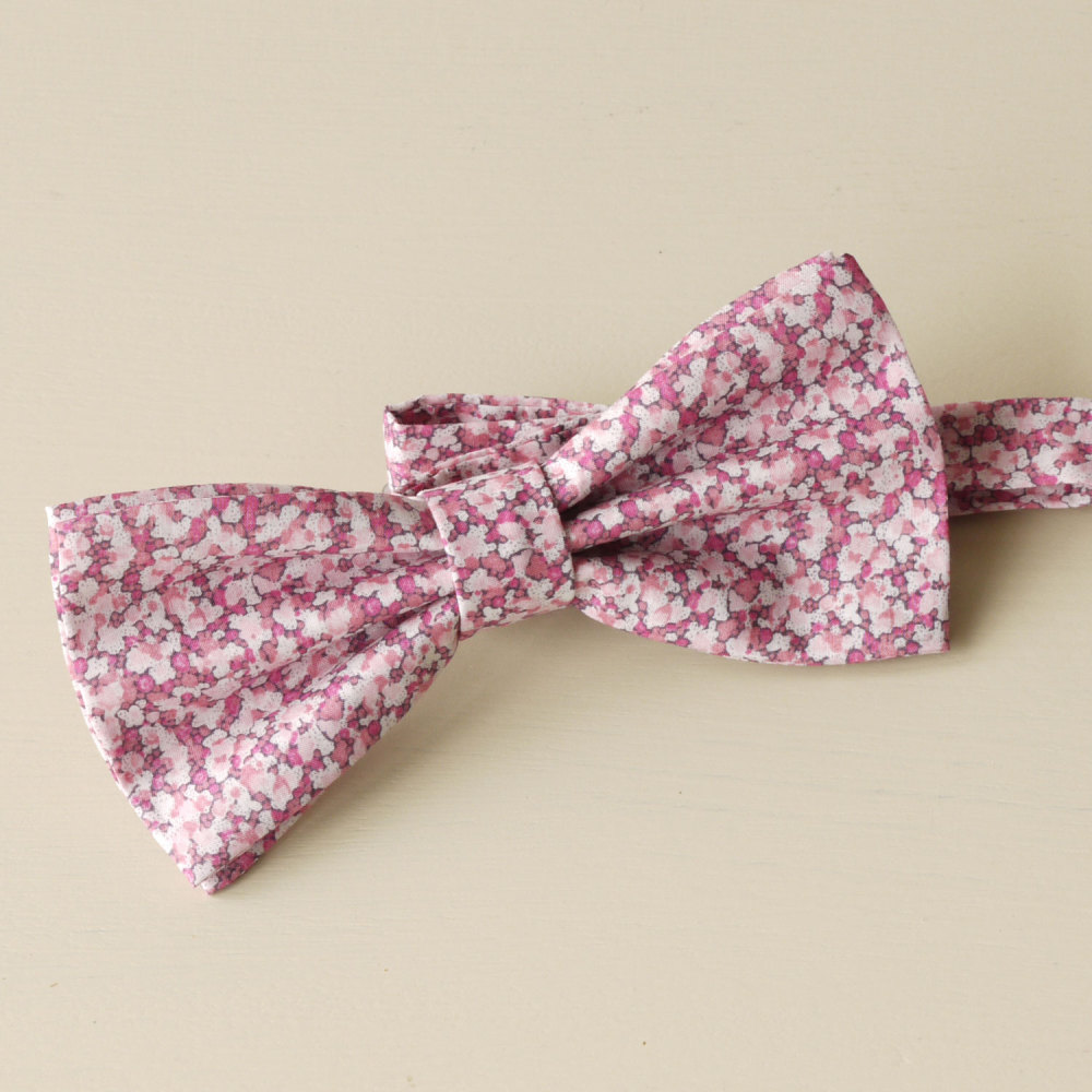 Liberty Bow Tie - Pepper pink