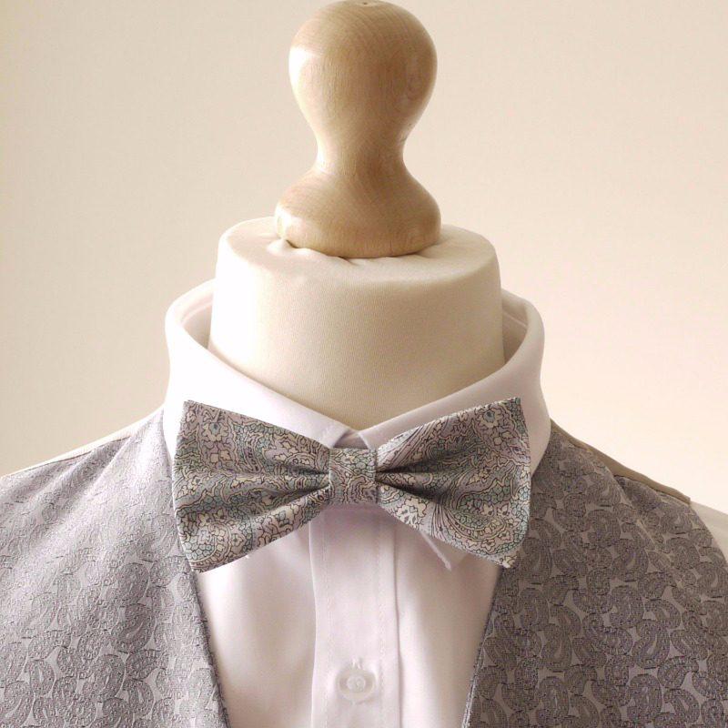 Liberty bow tie paisley bow tie