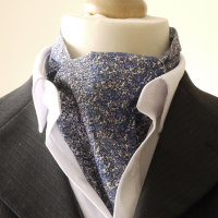 Douglas Stripe Cravat made with Liberty fabric