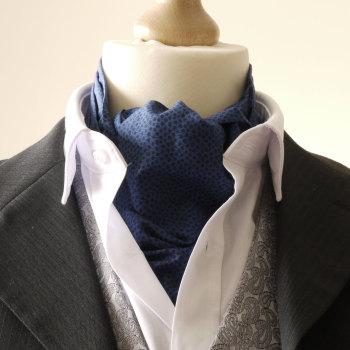 Marco blue Liberty tana lawn cravat