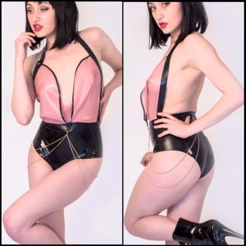 The NOIR Collection - Latex Bodysuit