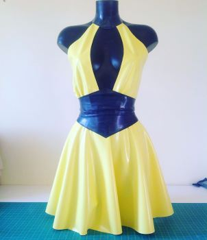 Silk Spectre Inspired Dress and Belt