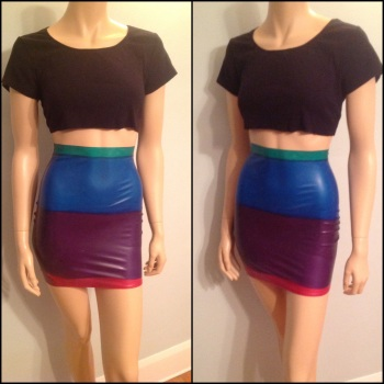 High Waisted Pencil Skirt, UK Size 10