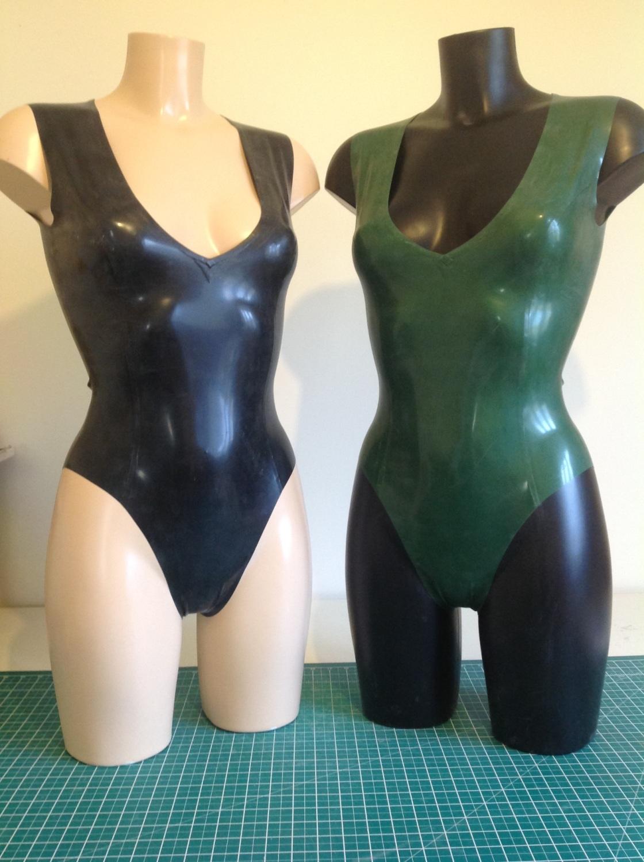 Plunge Neckline Bodysuit