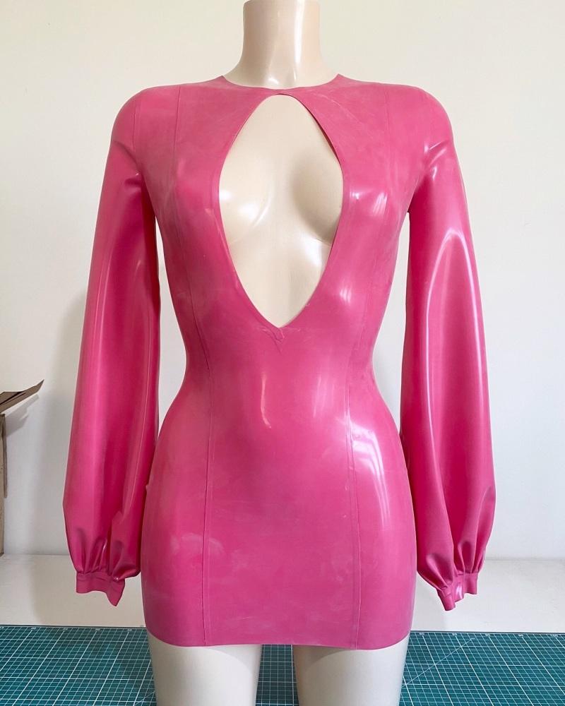 Bishop Sleeve Mini Dress