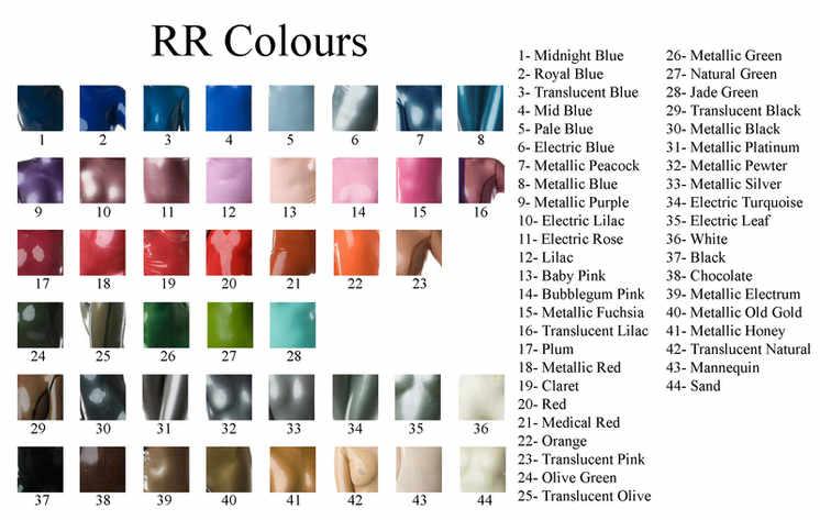RR Colour Chart
