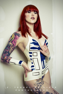 Star Wars R2D2 Inspired Bodysuit