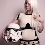 Star Wars Stormtrooper Inspired Rubber Latex Bodysuit Romper Version 2