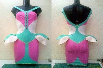 Rubber Latex Sweetie-Bug Dress