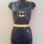 Rubber Latex Batman Inspired Bodysuit #2
