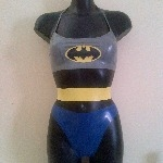 Rubber Latex Batman Inspired Set
