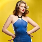 The Flintstones - Betty Rubble Flintstones Inspired Rubber Latex Dress