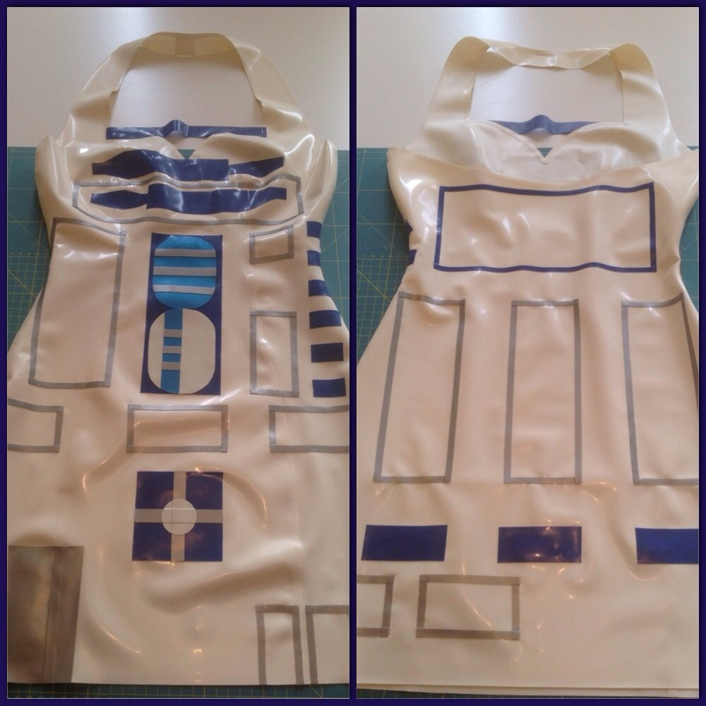 Star Wars R2D2 Inspired Mini Dress