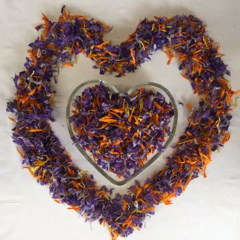 Dried Petal Confetti - Indian Summer