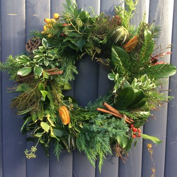 Natural Christmas wreath