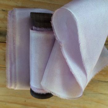 Lavender habotai silk ribbon. No.5