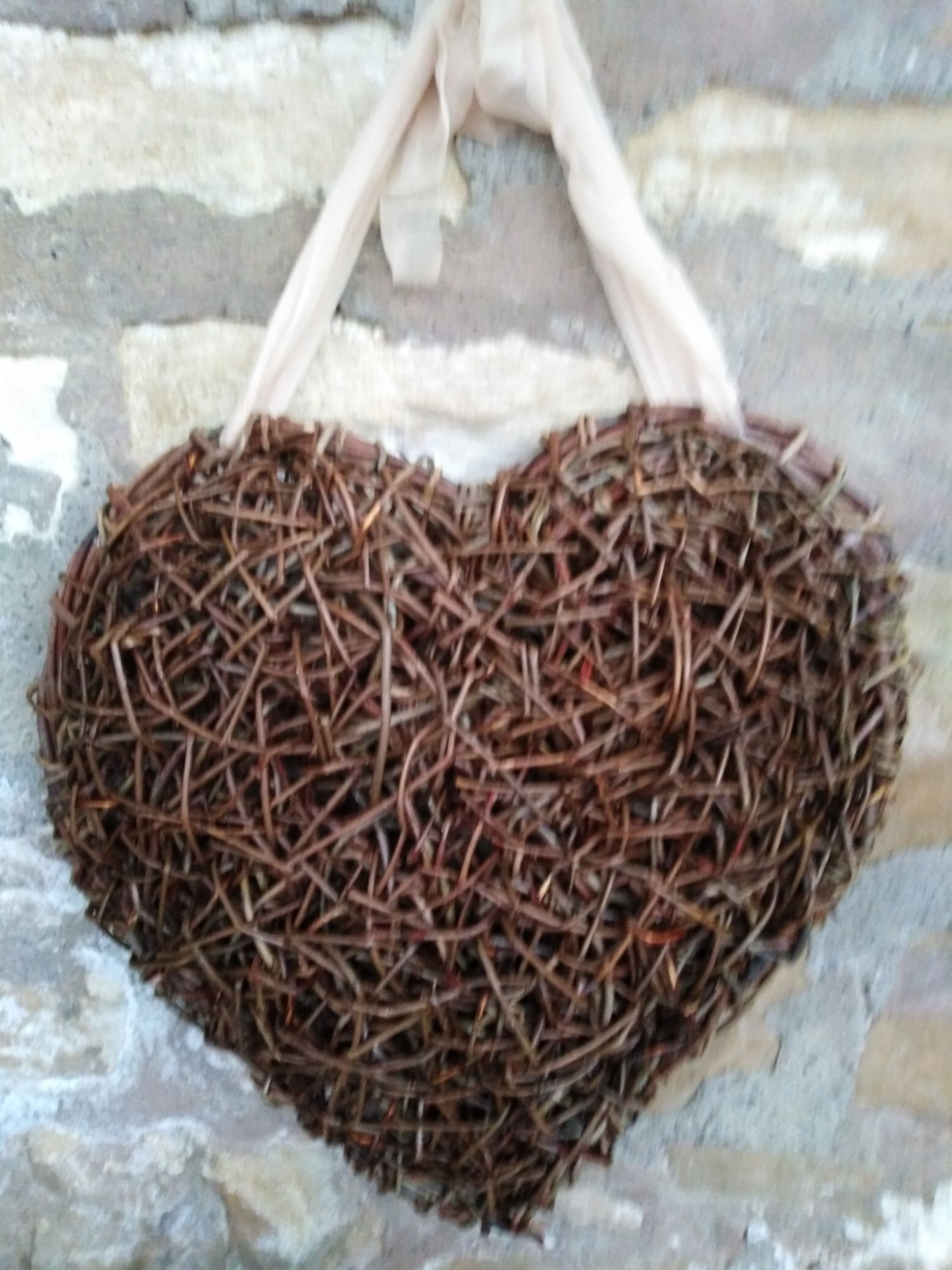 hanging willow heart
