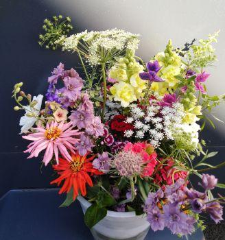 Flower arrangers bucket