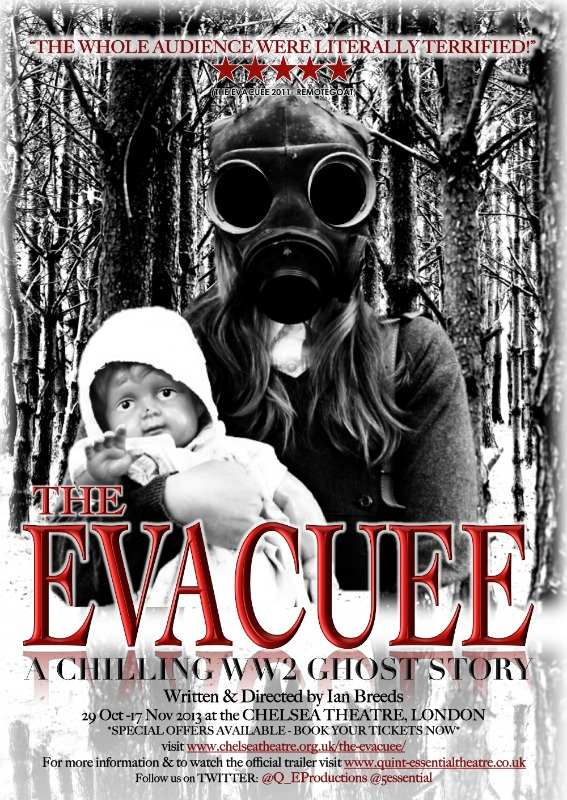 the evacuee - full page ad