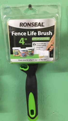 Shed & Fence Paint Brush