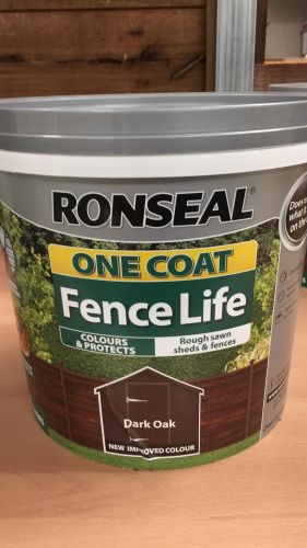Ronseal Dark Oak Fence Paint 5L