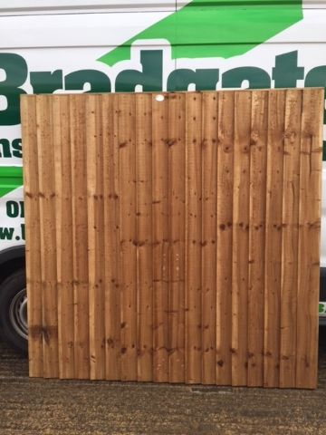 4ft x 6ft Closeboard Panel
