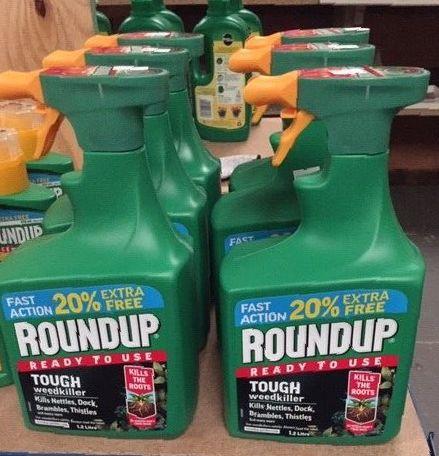 Roundup Tough Weedkiller