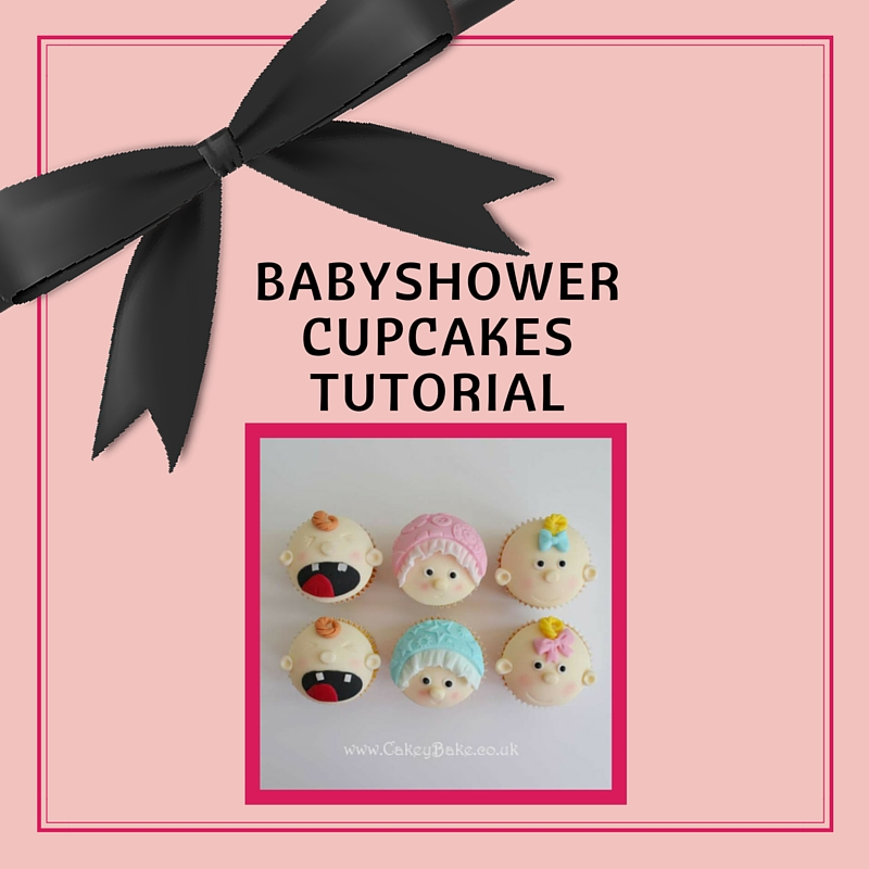 Babyshower Cupcake tutorial