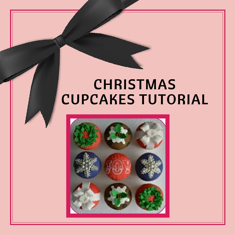 Christmas Cupcake Tutorial